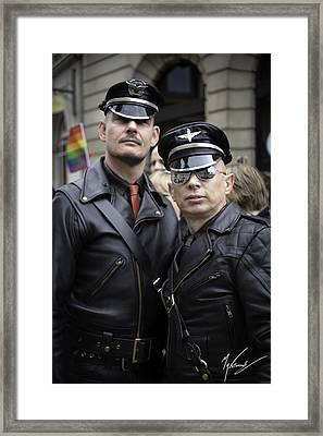 Pride Framed Print by Max CALLENDER