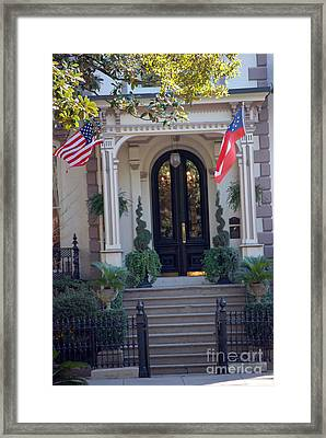 Pride Of The South Framed Print by Rebecca Armermann
