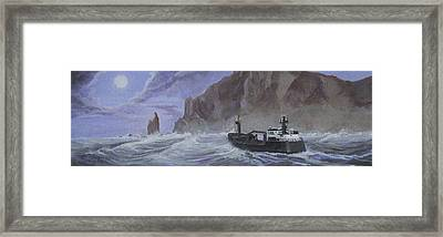 Priest Rock  Framed Print by Jerry McElroy