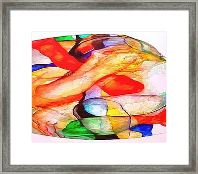 Profound Thought Another Perspective Framed Print by Catherine Lott