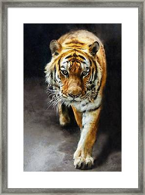 Primal Instincts Framed Print by Marcin and Dawid Witukiewicz