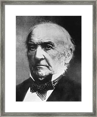Prime Minister Gladstone Framed Print by Underwood Archives