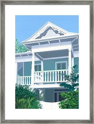 Prince Town Framed Print by David Holmes