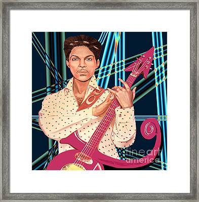Prince Unpronounceable Symbol Framed Print by Gary Keesler