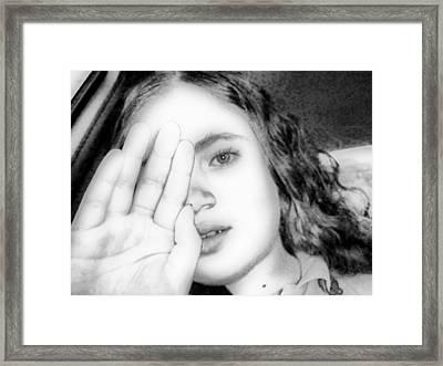 Princess Framed Print by Beto Machado