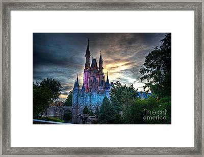 Princess Castle Framed Print by Ryan Crane