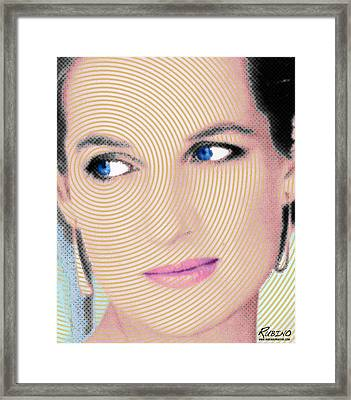 Princess Lady Diana Framed Print by Tony Rubino