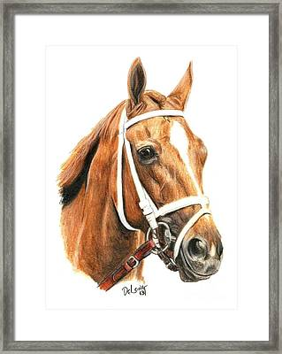 Princess Of Sylmar Framed Print by Pat DeLong