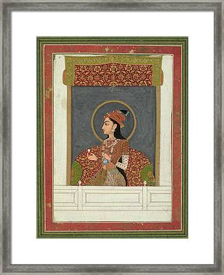 Princess Zinat Afza Begum Framed Print by British Library