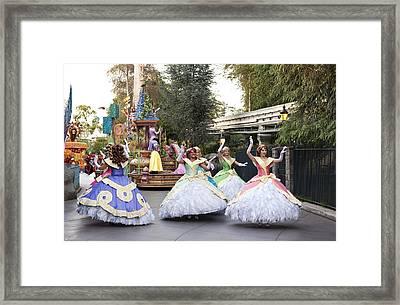Princesses Framed Print by Malania Hammer