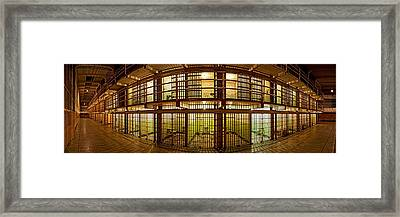 Prison Cells, Alcatraz Island, San Framed Print by Panoramic Images