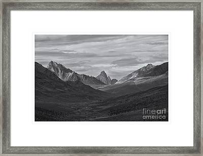 Pristine Valley Framed Print by Priska Wettstein