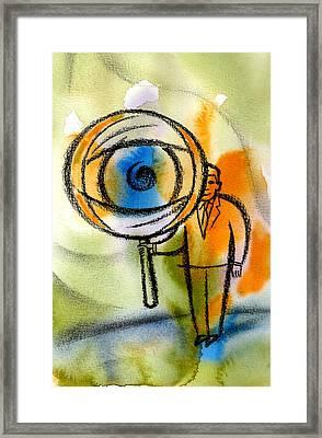 Privacy Framed Print by Leon Zernitsky