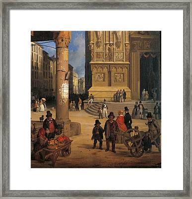 Private Collection. Detail. Cathedral Framed Print by Everett