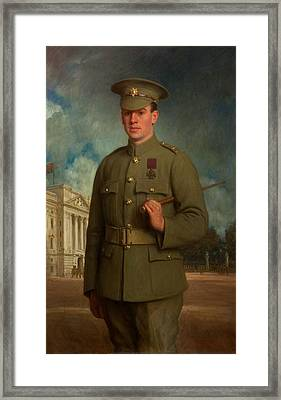 Private Thomas Whitham, Vc, 1918 Framed Print by Isaac Cooke