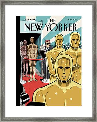 Privileged Characters Framed Print by Dan Clowes