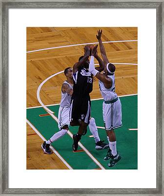 Pro Hoops 004 Framed Print by Jeff Stallard