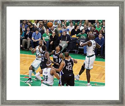 Pro Hoops 020 Framed Print by Jeff Stallard