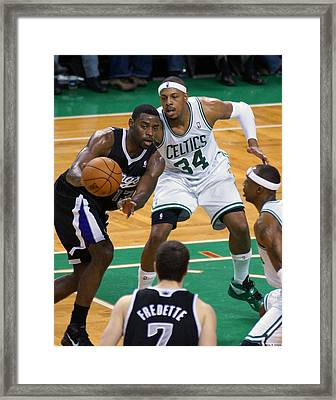 Pro Hoops 021 Framed Print by Jeff Stallard