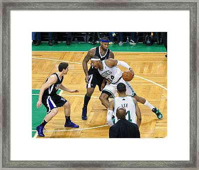 Pro Hoops 024 Framed Print by Jeff Stallard