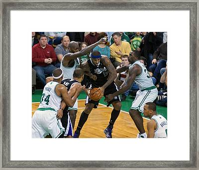 Pro Hoops 026 Framed Print by Jeff Stallard