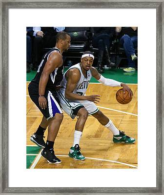 Pro Hoops 027 Framed Print by Jeff Stallard