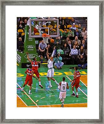 Pro Hoops 030 Framed Print by Jeff Stallard