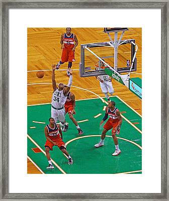 Pro Hoops 033 Framed Print by Jeff Stallard