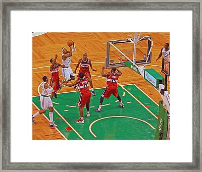 Pro Hoops 034 Framed Print by Jeff Stallard