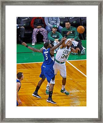 Pro Hoops 038 Framed Print by Jeff Stallard