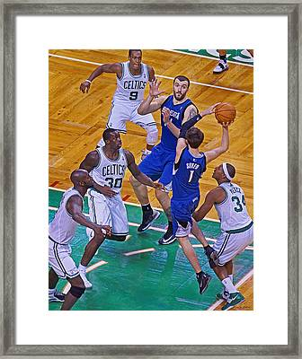 Pro Hoops 045 Framed Print by Jeff Stallard