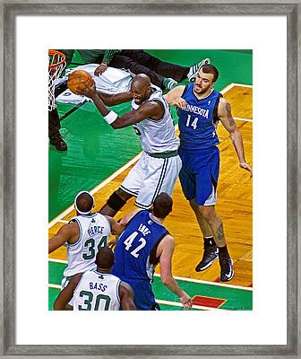 Pro Hoops 047 Framed Print by Jeff Stallard