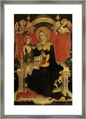 Probably Artista Veneziano, Madonna Framed Print by Everett