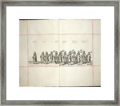 Procession Framed Print by British Library