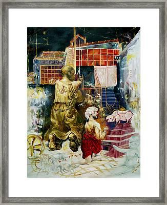 Prodigal Son Framed Print by Nekoda  Singer