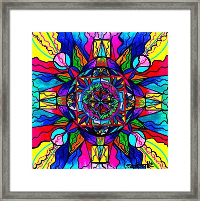 Productivity  Framed Print by Teal Eye  Print Store