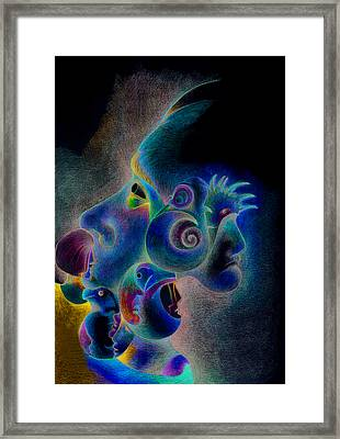 Profile Framed Print by Bodhi