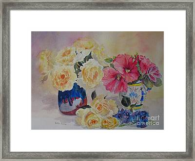 Profusion Framed Print by Beatrice Cloake