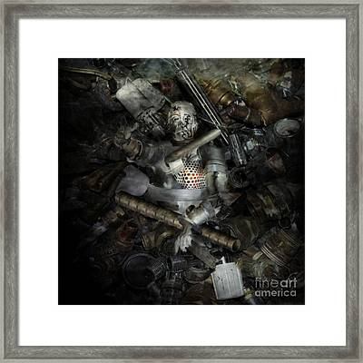 Progressions End Framed Print by KJ Bruce - Infinity Fusion Art