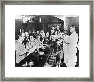 Prohibition Repeal, 1933 Framed Print by Granger