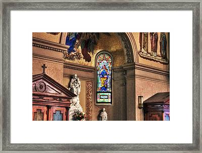Projections Of Faith Framed Print by Gary Yost