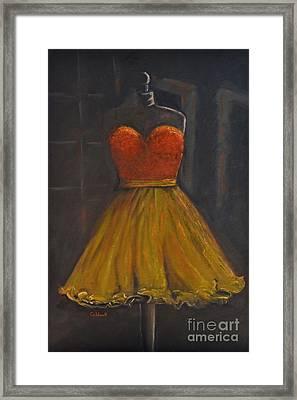 Prom Dress Framed Print by Patricia Caldwell