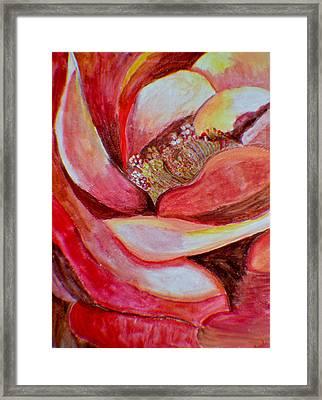 Promise Of Love Framed Print by Sonali Gangane