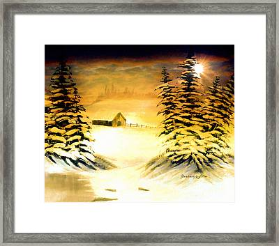 Promises Of A Brighter Day Framed Print by Barbara Griffin