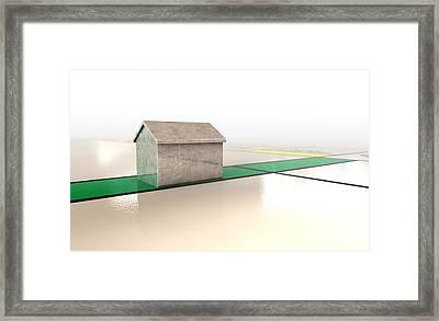Property Monopoly Framed Print by Allan Swart