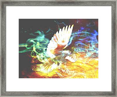Prophetic Art Signs Framed Print by Beverly Guilliams