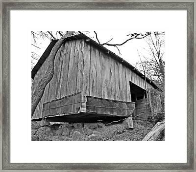Propped Up Framed Print by Susan Leggett