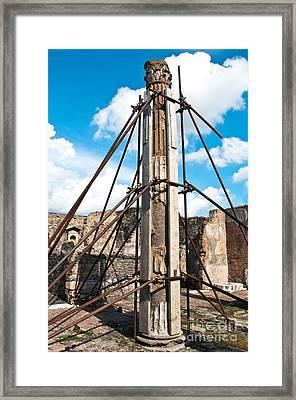 Props Framed Print by Marion Galt