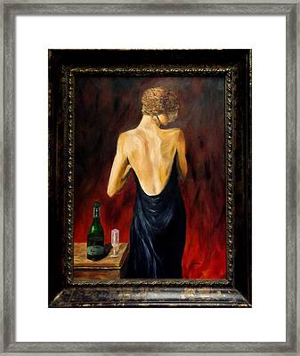 Prosecco Nights Framed Framed Print by Gino Didio