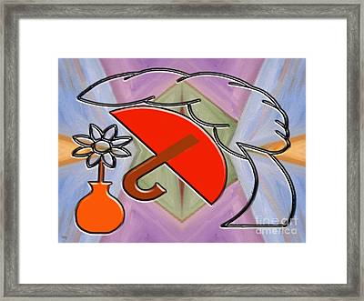 Protected By The Light Of Love Framed Print by Patrick J Murphy